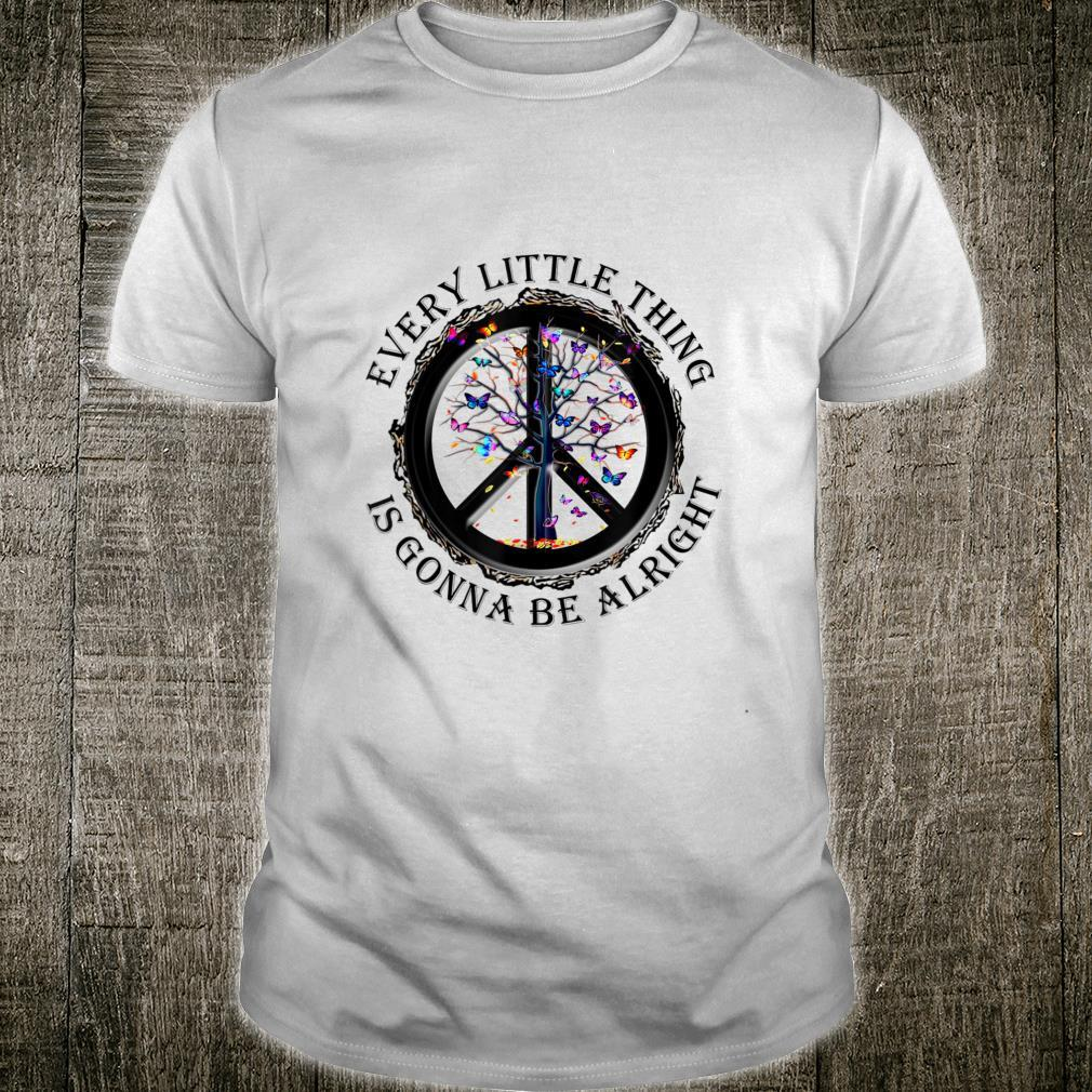 Every little thing is gonna be alright YogaButterfly Tree Shirt