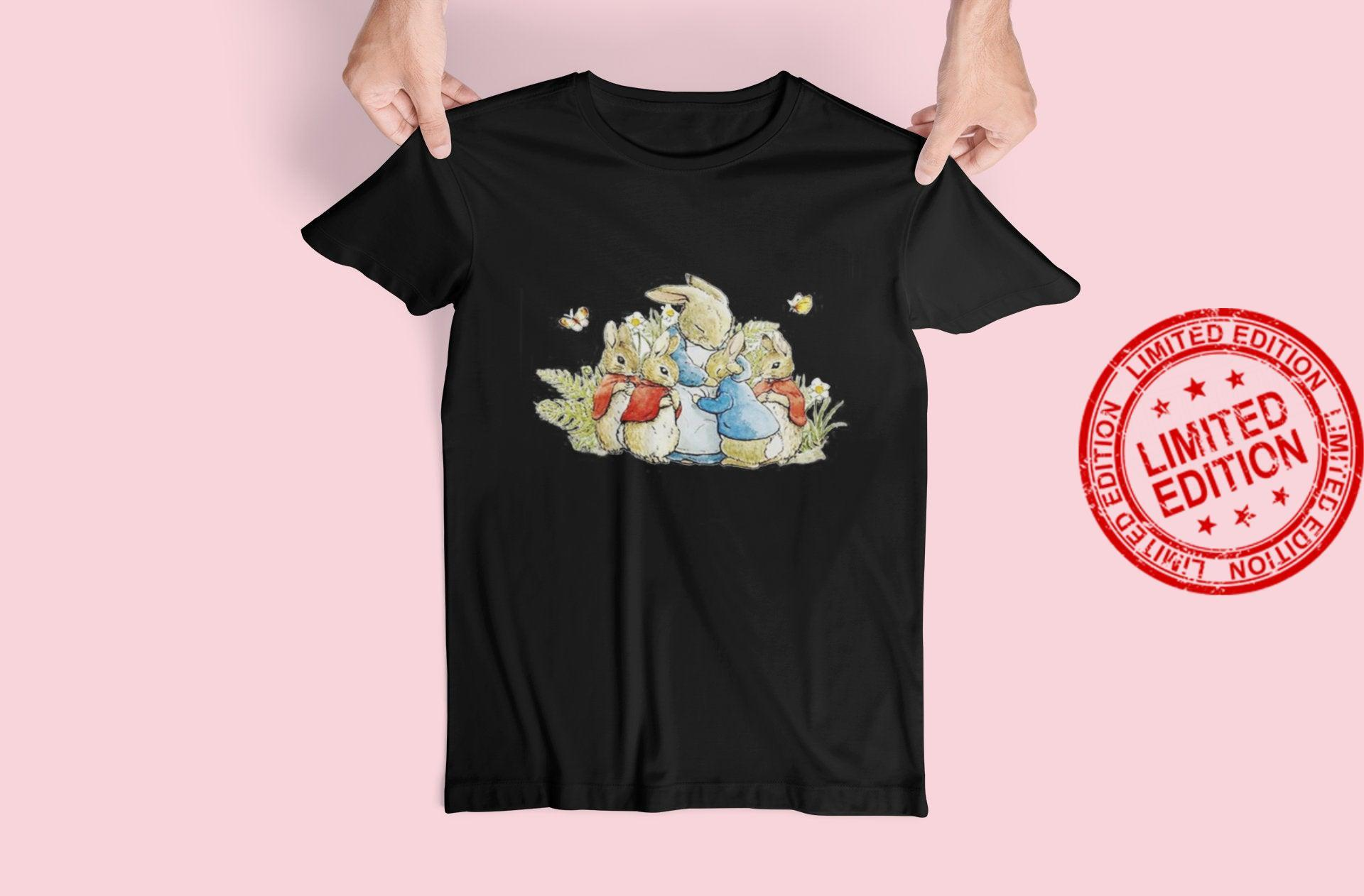 Peter Rabbit with His Family Beatrix Potter Shirt